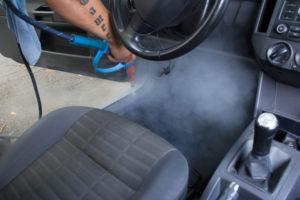Fußmattenreinigung | WÄHREND unserer Reinigung